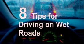 8 Tips for Driving on Wet Roads